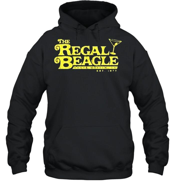 The Regal Beagle santa monica ca est 1977 shirt Unisex Hoodie