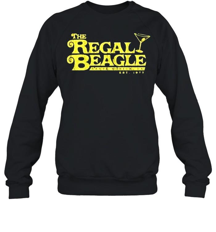 The Regal Beagle santa monica ca est 1977 shirt Unisex Sweatshirt