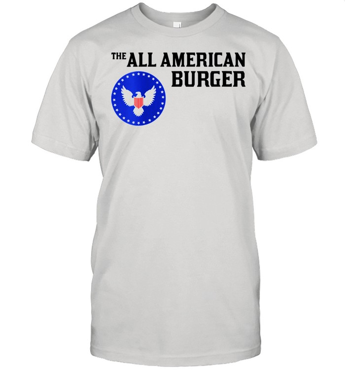 1980s Hamburger The All American Burger shirt Classic Men's T-shirt