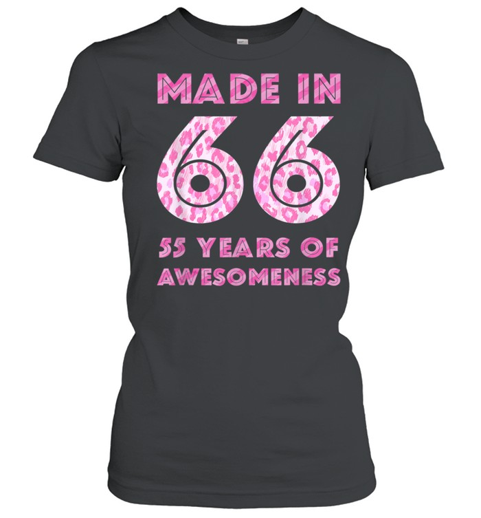 55th Birthday Man 55 Year Old Son Daughter 19 shirt Classic Women's T-shirt