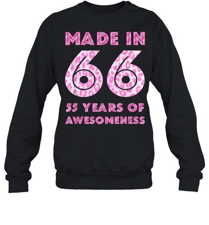 55th Birthday Man 55 Year Old Son Daughter 19 shirt Unisex Sweatshirt