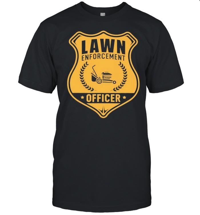 The Lawn Mower Enforcement Officer shirt Classic Men's T-shirt