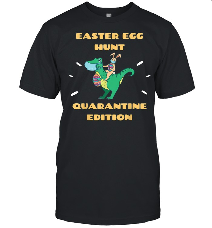 Easter in Quarantine 2021 Bunny & Easter Dinosaur TRex shirt Classic Men's T-shirt