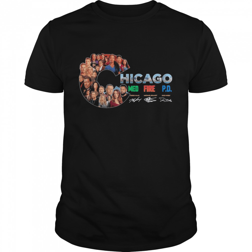 The Chicago Film With Med Fire Pd Signatures shirt Classic Men's T-shirt