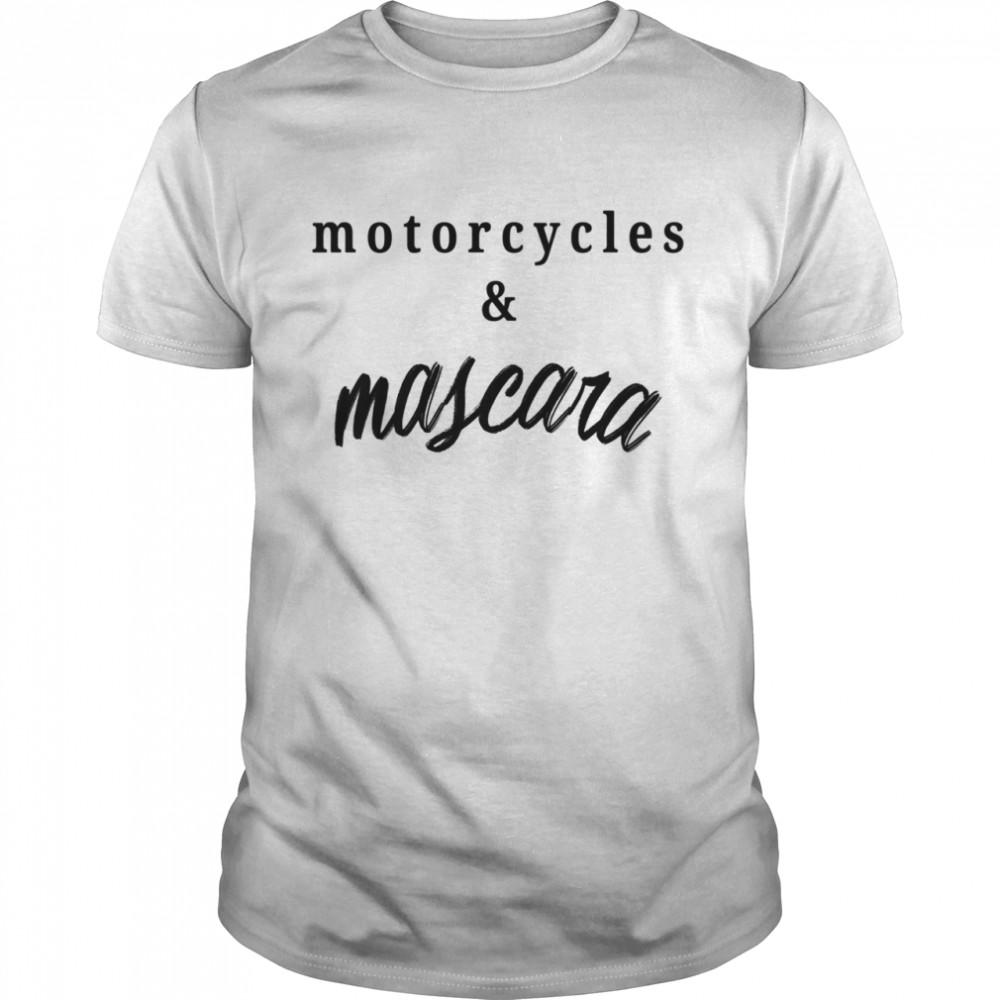 Motorcycles Mascara  Classic Men's T-shirt