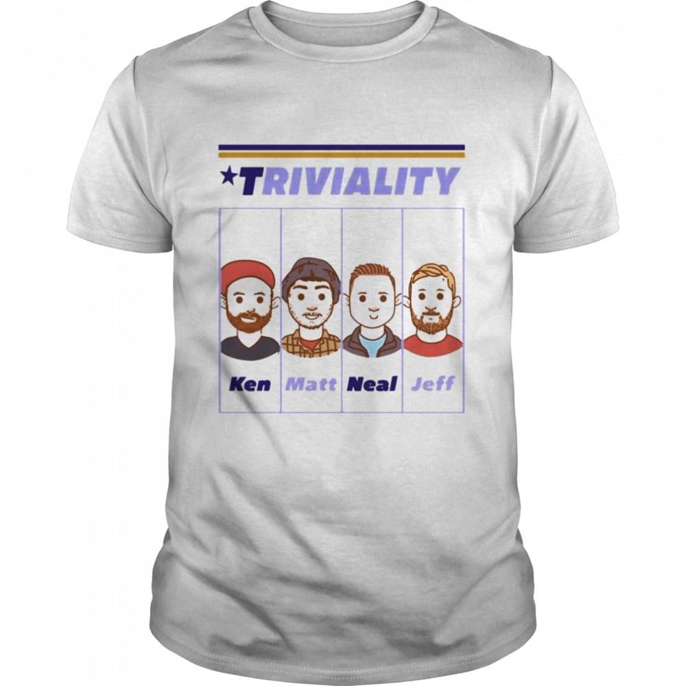 Nsync triviality Ken Matt Neal Jeff shirt Classic Men's T-shirt