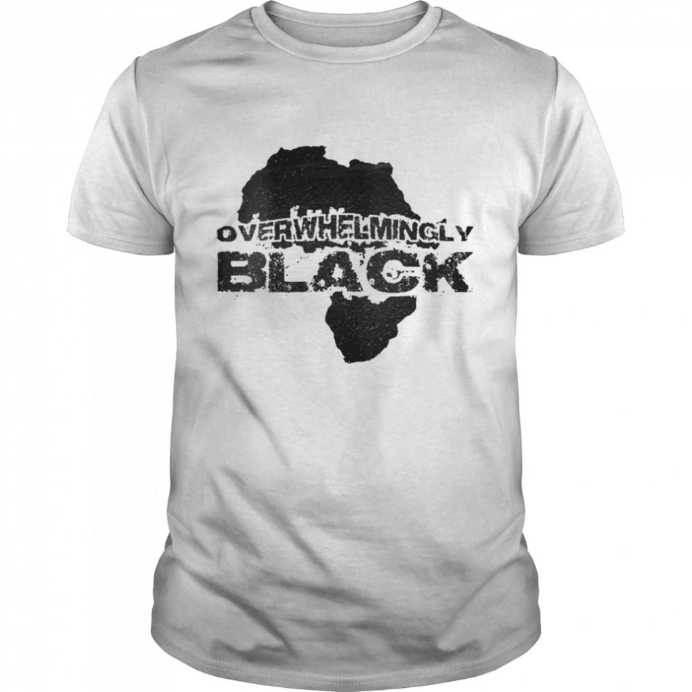 Overwhelmingly Black  Classic Men's T-shirt