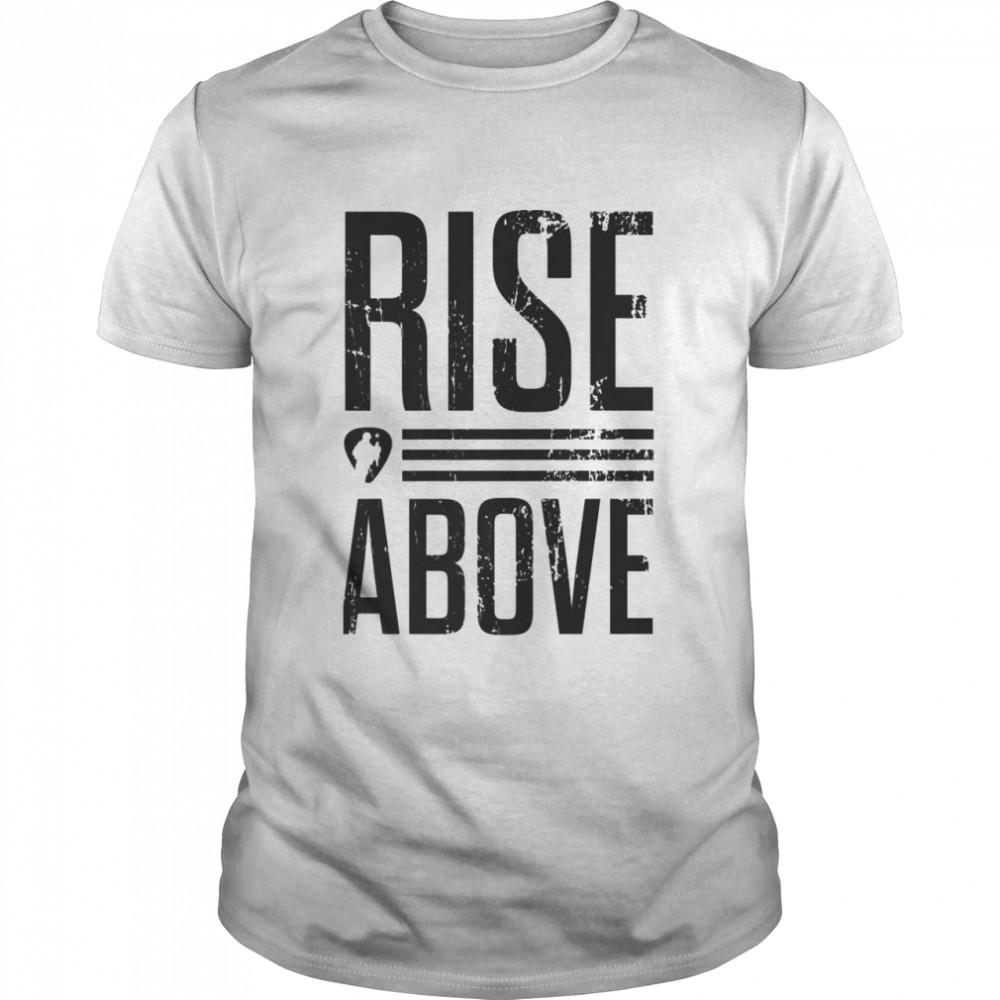 Rise Above  Classic Men's T-shirt