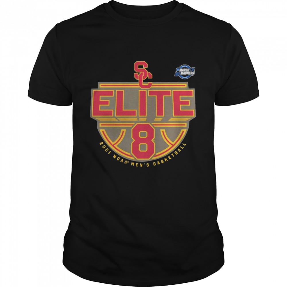 USC Trojans 2021 NCAA men's basketball tournament march madness elite 8 shirt Classic Men's T-shirt