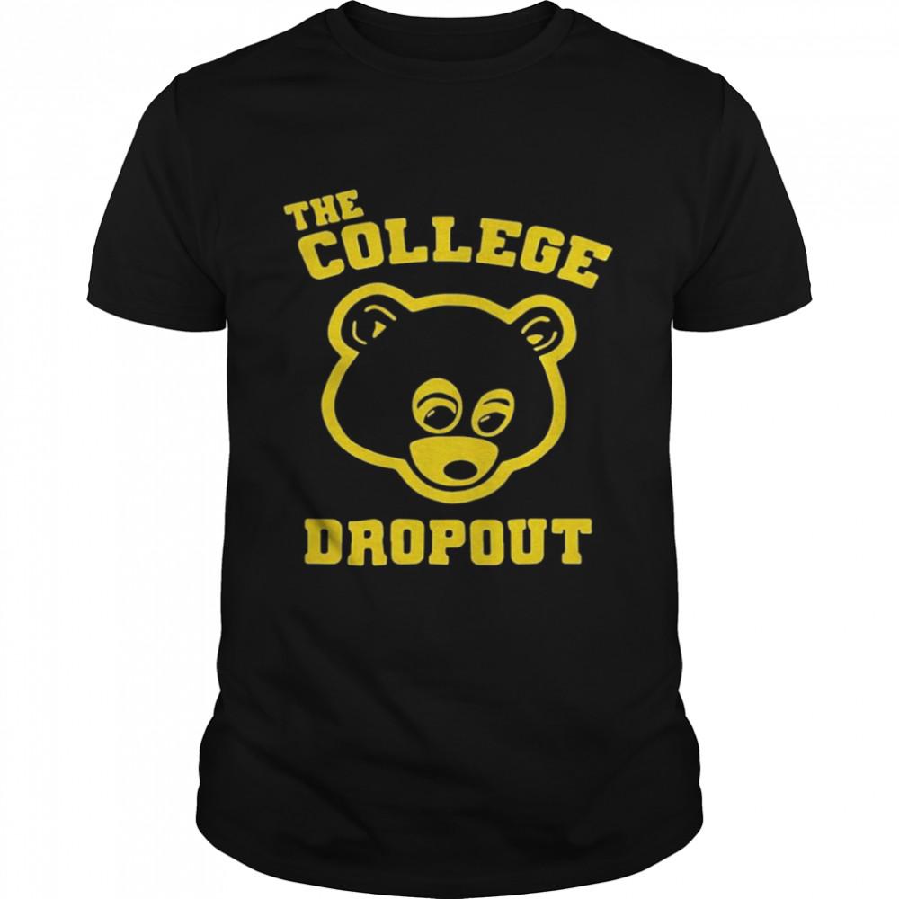 Bear the college dropout shirt Classic Men's T-shirt