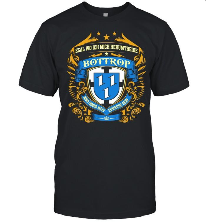Egal Wo Ich Mich Herumtreibe Bottrop  Classic Men's T-shirt