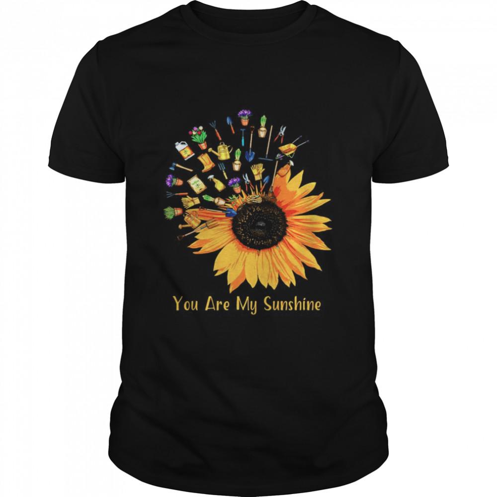 Gardening Sunflower you are my sunshine shirt Classic Men's T-shirt