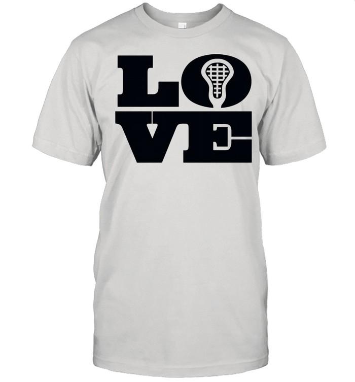 Lacrosse Big Love LAX Head Perfect for Girls &  Classic Men's T-shirt