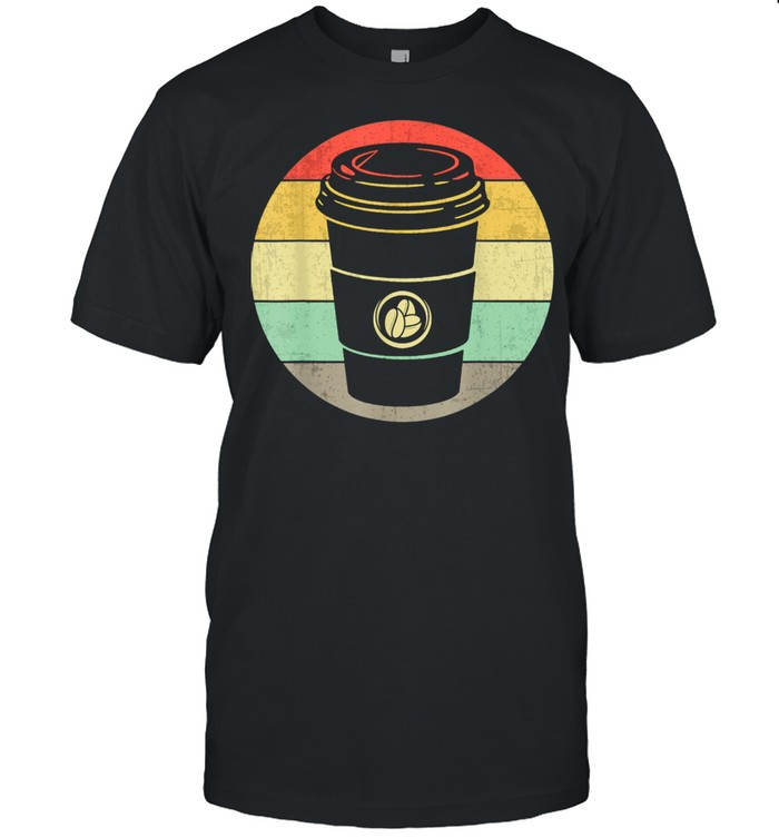 Vintage Paper Cup of Coffee for any Coffee  Classic Men's T-shirt