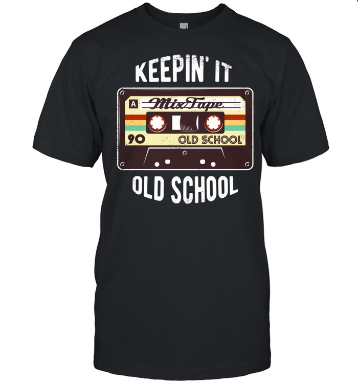 80s party costume Hip Hop Mixtape shirt Classic Men's T-shirt
