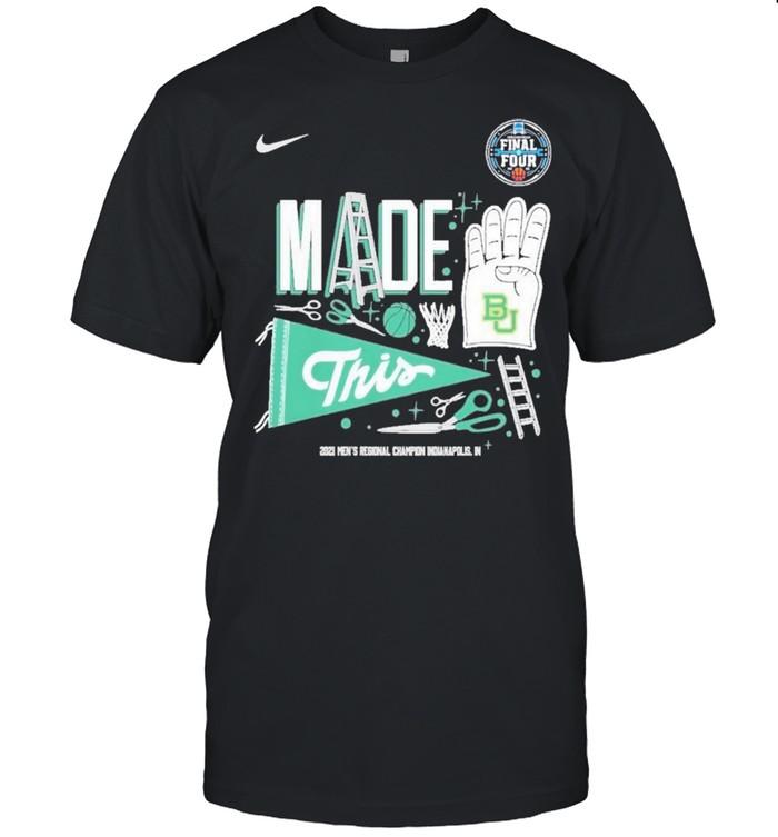 Baylor Bears 2021 NCAA Men's Basketball Final Four shirt Classic Men's T-shirt