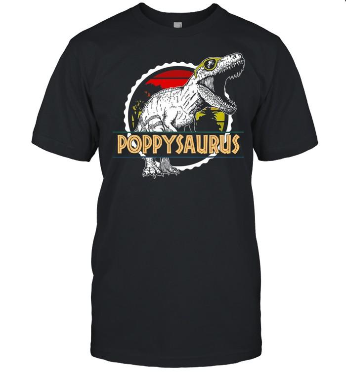 Dinosaur Poppy Saurus vintage shirt Classic Men's T-shirt