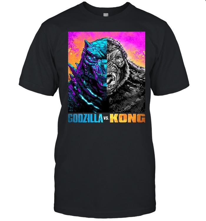 Godzilla Vs Kong Black shirt Classic Men's T-shirt
