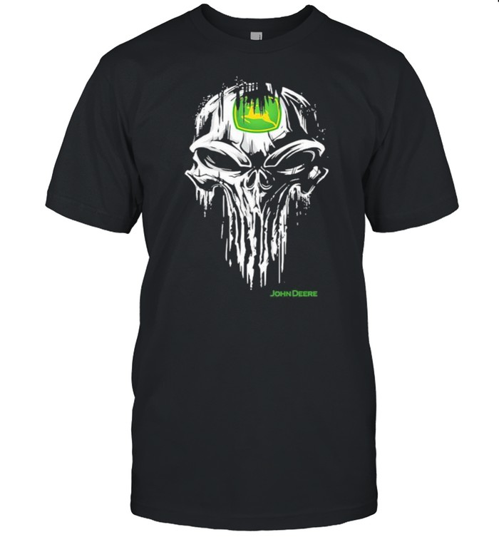 Punisher With John Deere Logo  Classic Men's T-shirt