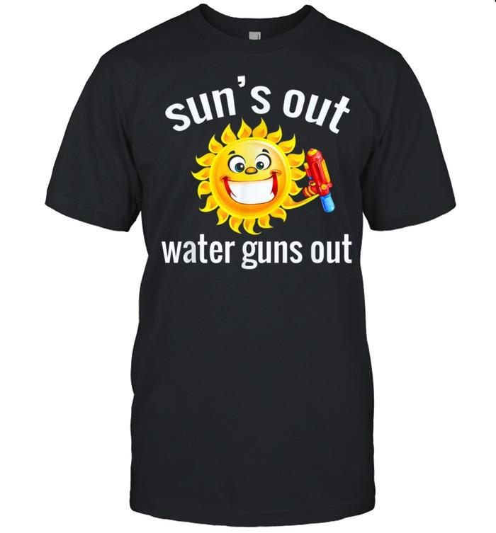 Summer Squirt Gun Design shirt Classic Men's T-shirt
