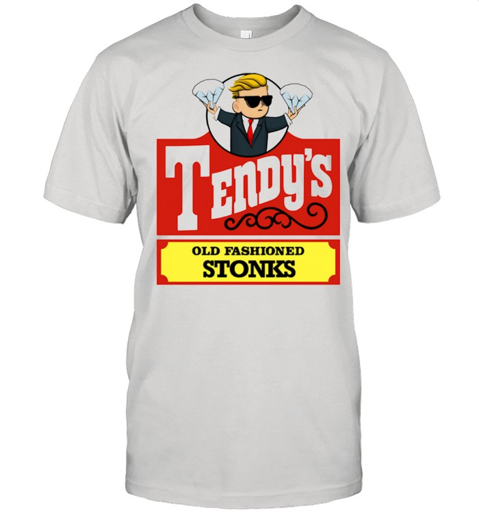 Tendys Stonks Old Fashioned Trader Investing HODL  Classic Men's T-shirt