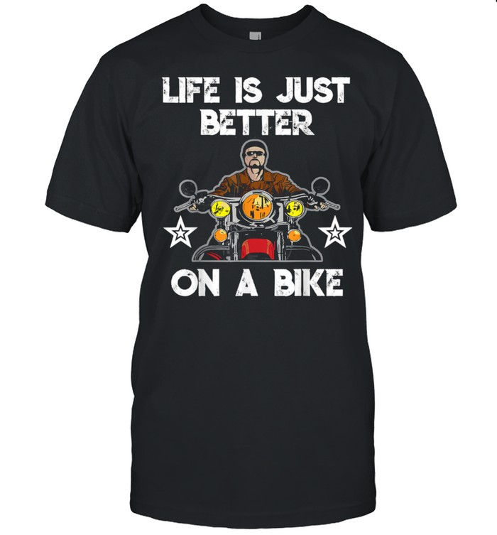Motorcycle  life is just better on a bike  Classic Men's T-shirt