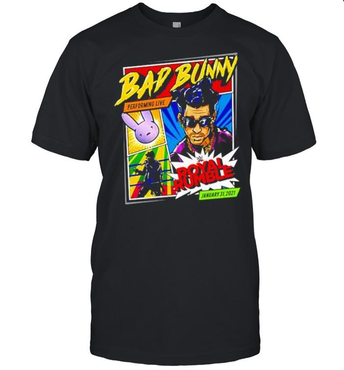 Bad Bunny x Royal Rumble 2021 shirt Classic Men's T-shirt