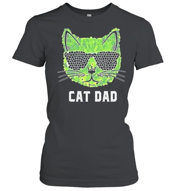 Cat Dad Ever shirt Classic Women's T-shirt
