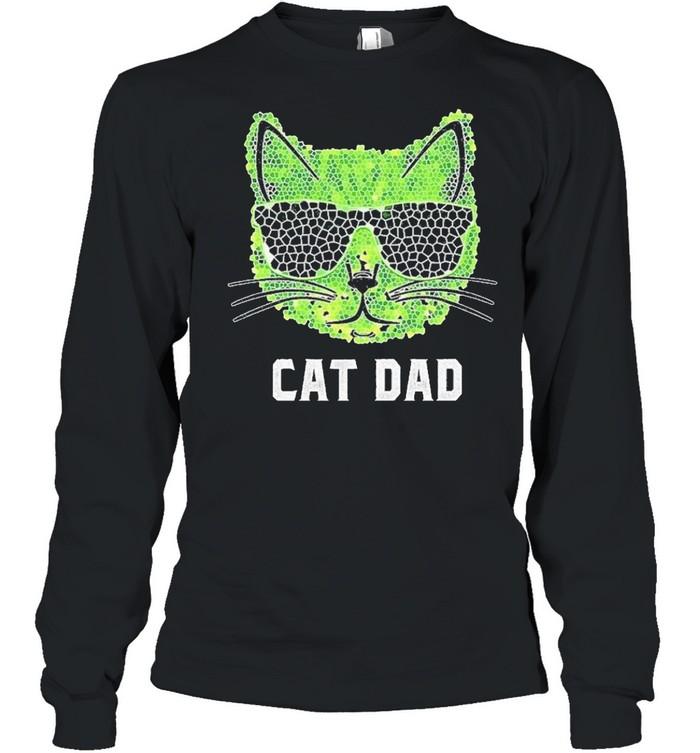 Cat Dad Ever shirt Long Sleeved T-shirt