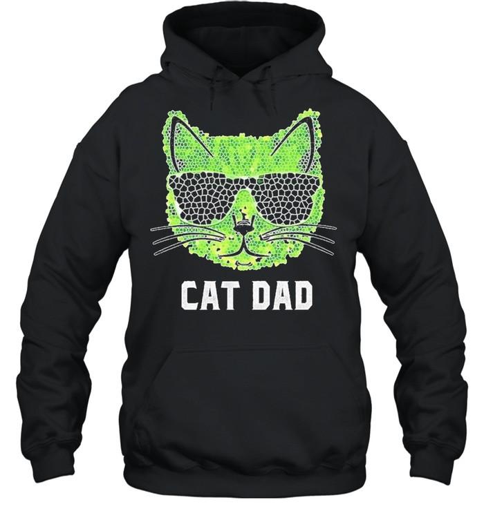 Cat Dad Ever shirt Unisex Hoodie