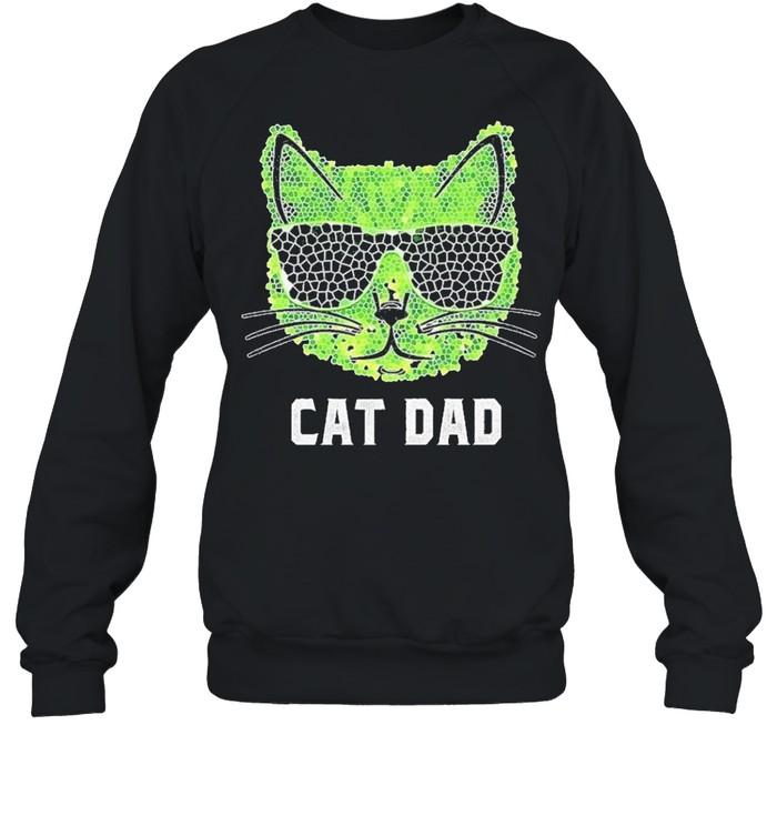Cat Dad Ever shirt Unisex Sweatshirt