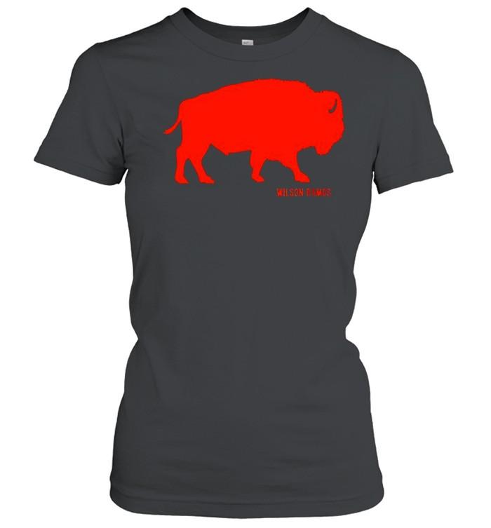 Wilson Ramos Detroit Buffalo shirt Classic Women's T-shirt