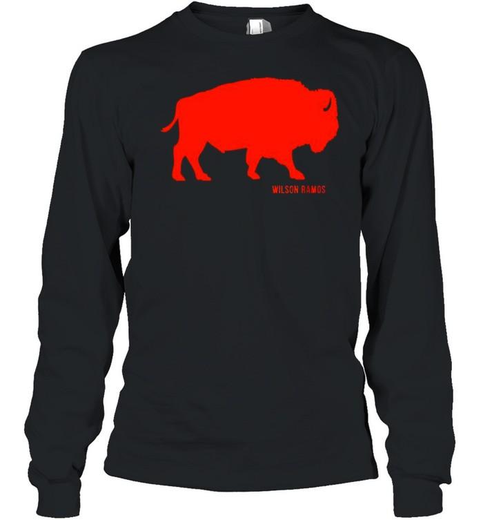Wilson Ramos Detroit Buffalo shirt Long Sleeved T-shirt