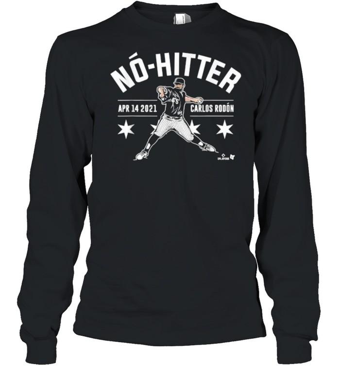Carlos Rodon No-Hitter 2021 Long Sleeved T-shirt