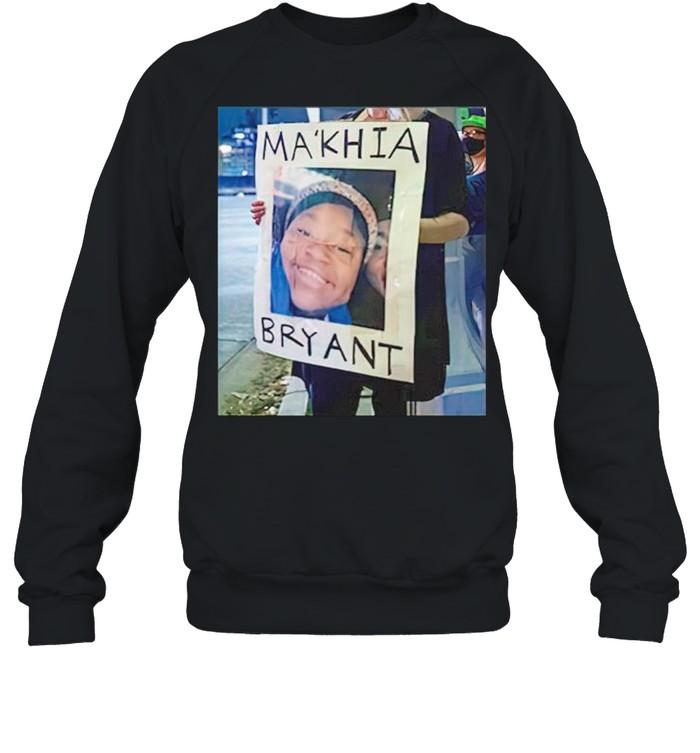 MaKhia Bryant shirt Unisex Sweatshirt