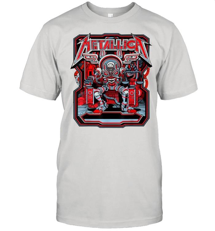 Metallicas Skull  Classic Men's T-shirt