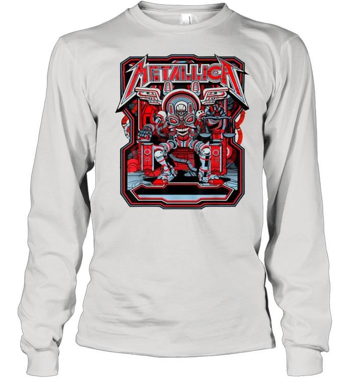 Metallicas Skull Long Sleeved T-shirt