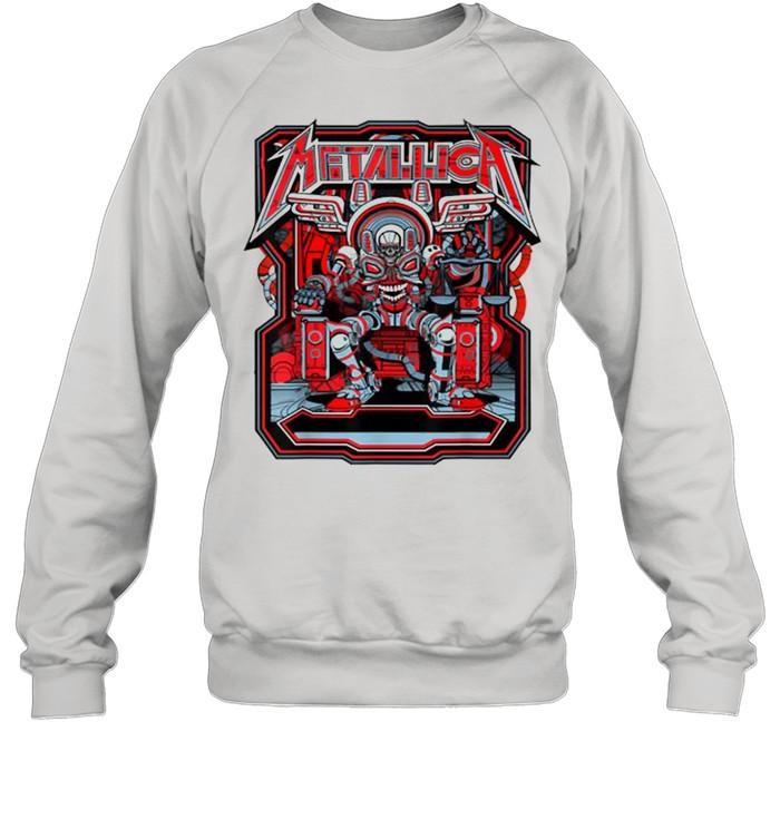 Metallicas Skull Unisex Sweatshirt