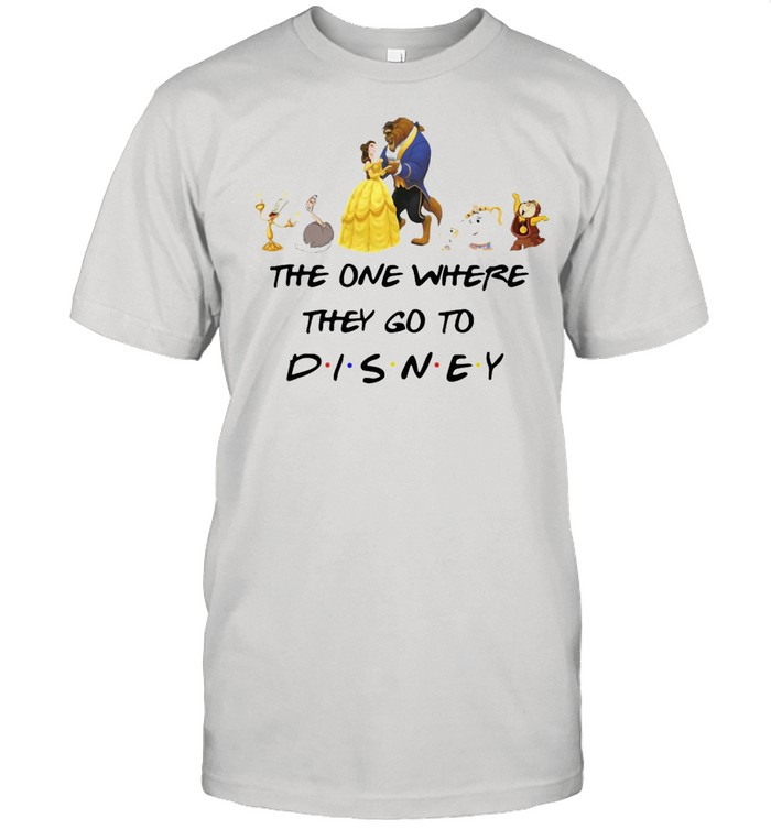 The One Where They Go To Girl Beauty And The Beast Disney T-shirt Classic Men's T-shirt