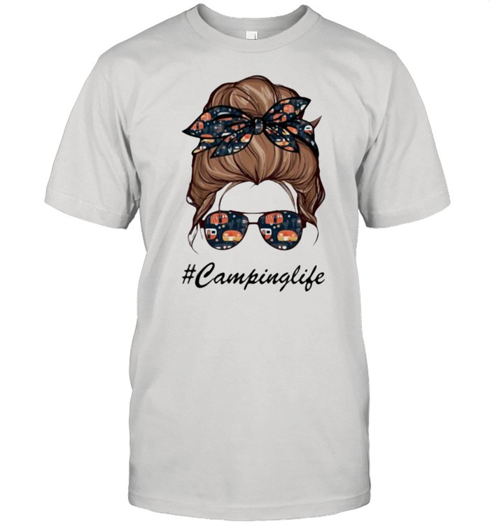 Camping Life Girl  Classic Men's T-shirt