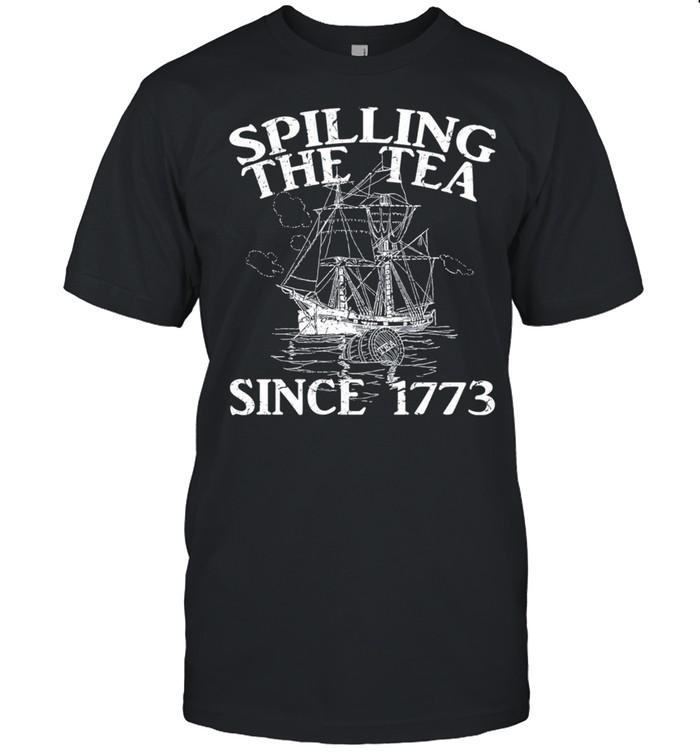 Spilling The tea since 1773 shirt Classic Men's T-shirt