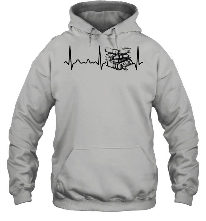 Heart Beat Book  Unisex Hoodie