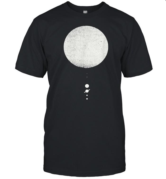 The Solar System Minimal Solar System Design shirt Classic Men's T-shirt