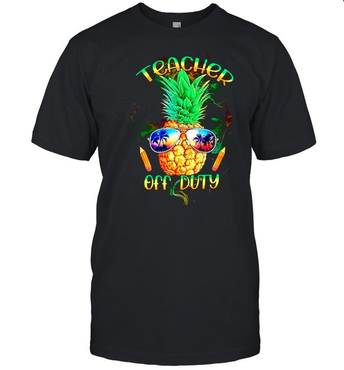 Teacher off duty shirt Classic Men's T-shirt