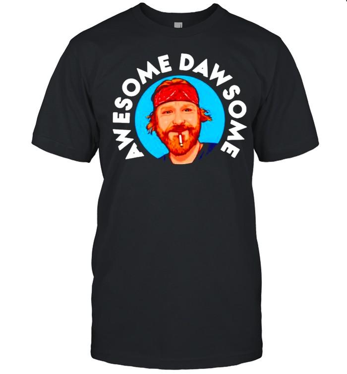 Awe some daw some shirt Classic Men's T-shirt