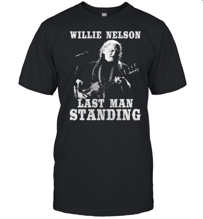 Willie Nelson last man standing guitar shirt Classic Men's T-shirt