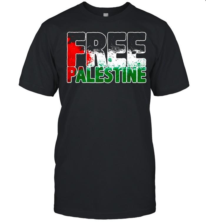 Free Palestine  Classic Men's T-shirt