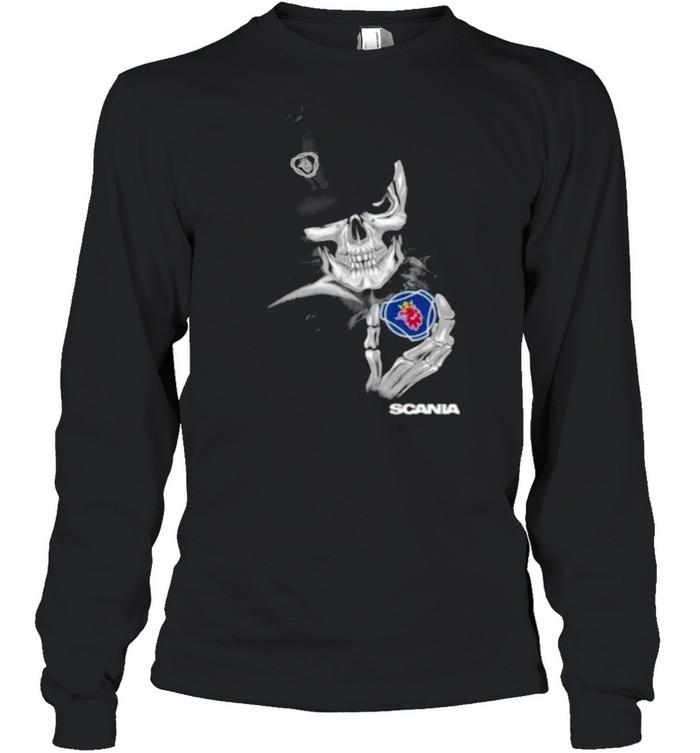 Skull Scania shirt Long Sleeved T-shirt