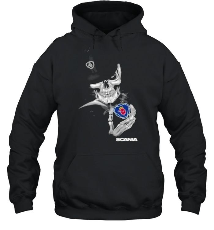 Skull Scania shirt Unisex Hoodie