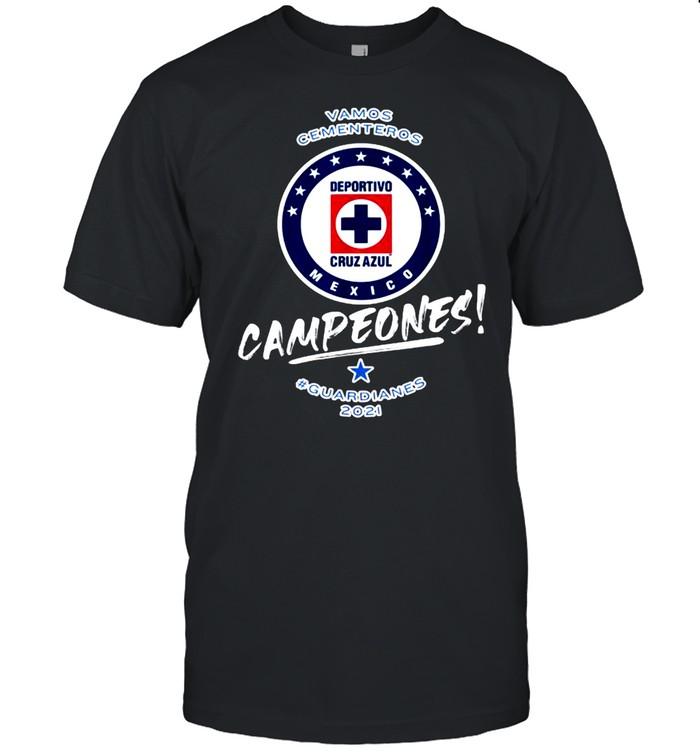 Vamos cementeros campeones guardianes Football Fans Cruz Azul 2021 T- Classic Men's T-shirt